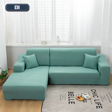Load image into Gallery viewer, L Shape Sofa Cover