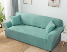 Load image into Gallery viewer, Solid Color Sofa Cover