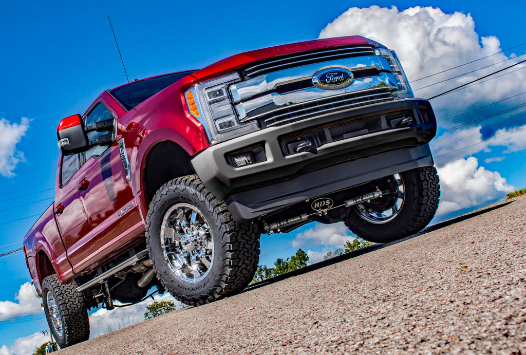 2017-2020 Ford Super Duty Direct Fit 100% Bolt-On Train Horn and Onboard Air with Spare Tire Delete
