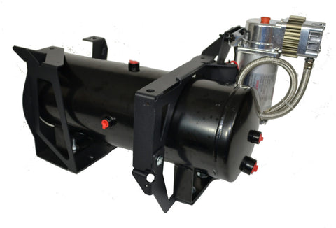 Image of GM 2500HD/3500HD Direct Fit Onboard Air System and 230 Train Horn
