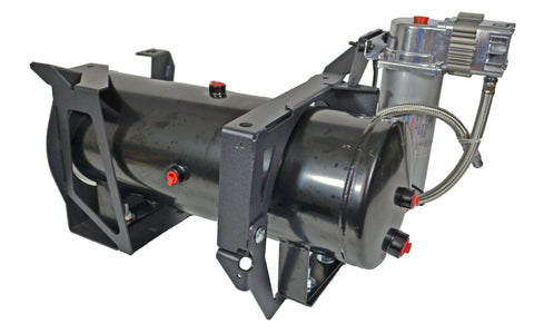 Image of GM 2500HD/3500HD Direct Fit Onboard Air System and 730 Train Horn