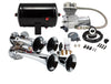 Model HK4 Chrome or Black Quad Air Horn Kit