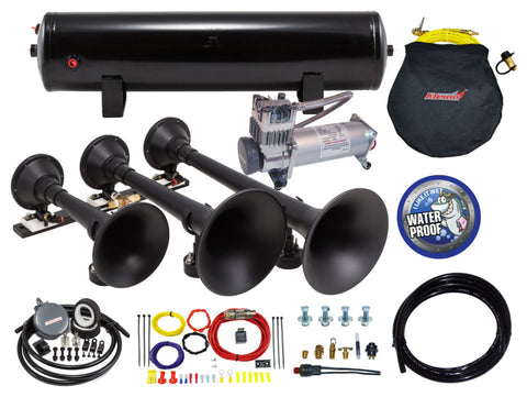 Model HK9-Slimline Triple Train Horn Kit