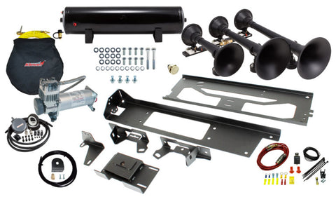 Onboard Air and Train Horn System For 2017-2020 Ford F-250 / F-350 With Model 730 Demon Train Horn