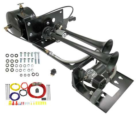 Image of Jeep Wrangler TJ & LJ Dual Air Horn Kit