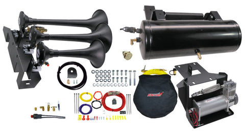 Image of 2007-2020 Toyota Tundra Direct Fit Onboard Air System and 730 Train Horn