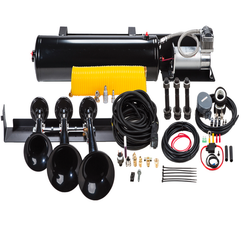 Image of Train Horn System for 2009-2014 Ford F-150 and SVT Raptor VELO-230