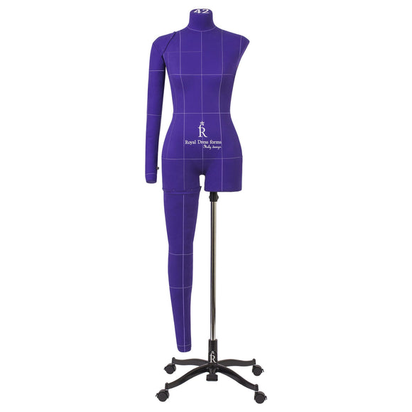 Professional soft tailor dress form Monica ART  violet  size L