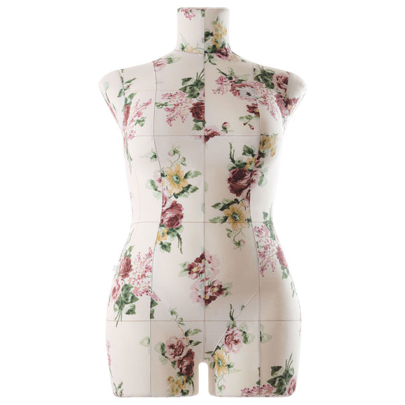 Professional soft tailor dress form Monica floral  size XL