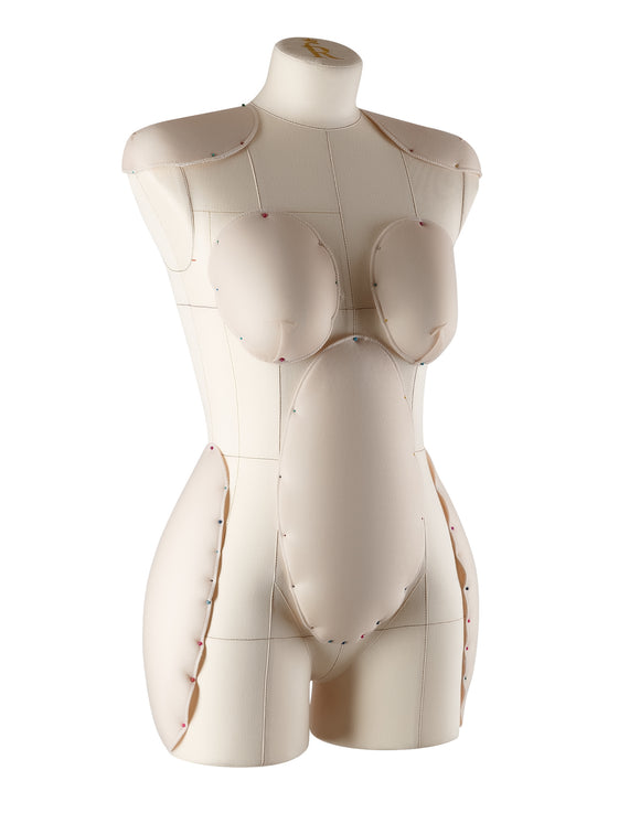 Padding Fitting System for Tailoring Mannequin (beige) size M-XL