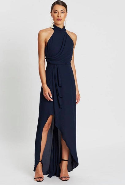 WATERFALL MIDI DRESS