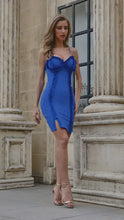 Load and play video in Gallery viewer, Amazing Chic Super Sexy Bright Blue Dress