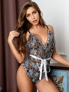 Very beautiful & sexy Floral Lace Teddy