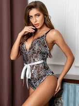 Load image into Gallery viewer, Very beautiful & sexy Floral Lace Teddy