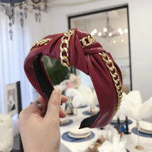 Load image into Gallery viewer, Super Cute PU Leather fashion Hairband
