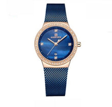 Load image into Gallery viewer, Trendy Stylish Rhinestone Ladies Watch