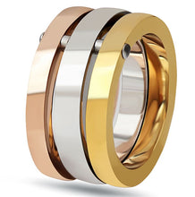 Load image into Gallery viewer, Beautiful Fashion Stainless Steel Three Ring Set