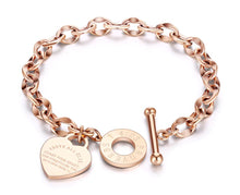 Load image into Gallery viewer, Stylish Stainless Steel Charm Bracelets