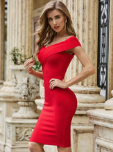 Load image into Gallery viewer, Super Stylish Sexy Red Dress