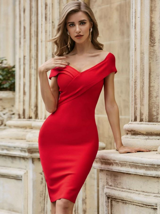 Super Stylish Sexy Red Dress