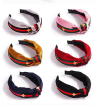 Load image into Gallery viewer, Super Cute Satin Striped Fashion Hairband