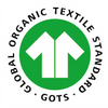 logo label GOTS (global organic textile standards)