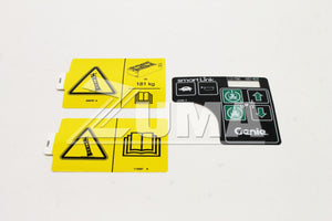 DECAL KIT,4047 COMP,SYM,CE (Genie Part # 215612GT OR 215612)