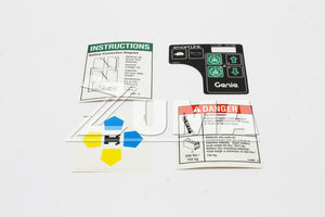 DECAL KIT,1530 COMP.,WRD,ANSI (Genie Part # 232053GT OR 232053)