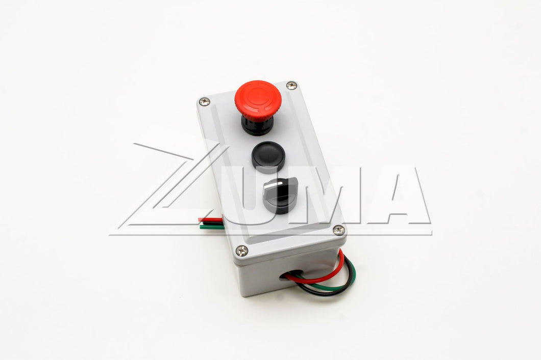CONTROL BOX,3BUTTON,PNEUMATIC (Genie Part # 26523GT OR 26523)