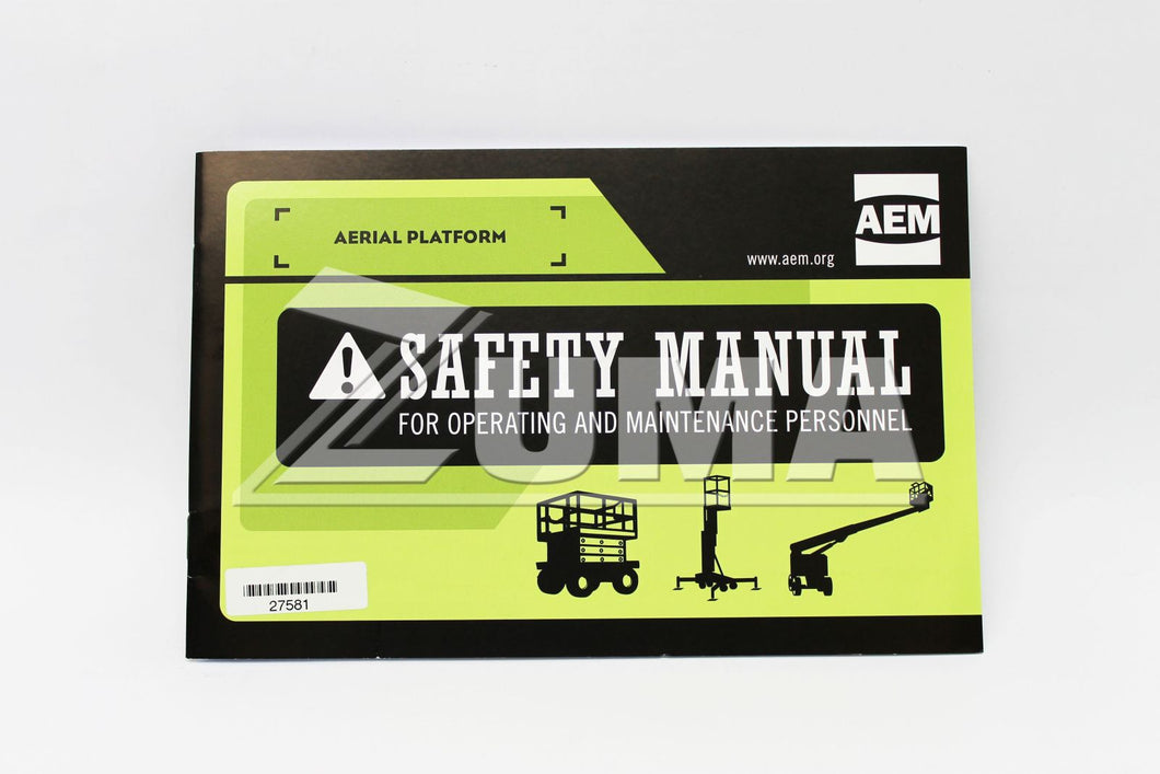 MANUAL, EMI SAFETY (Genie Part # 27581GT OR 27581)