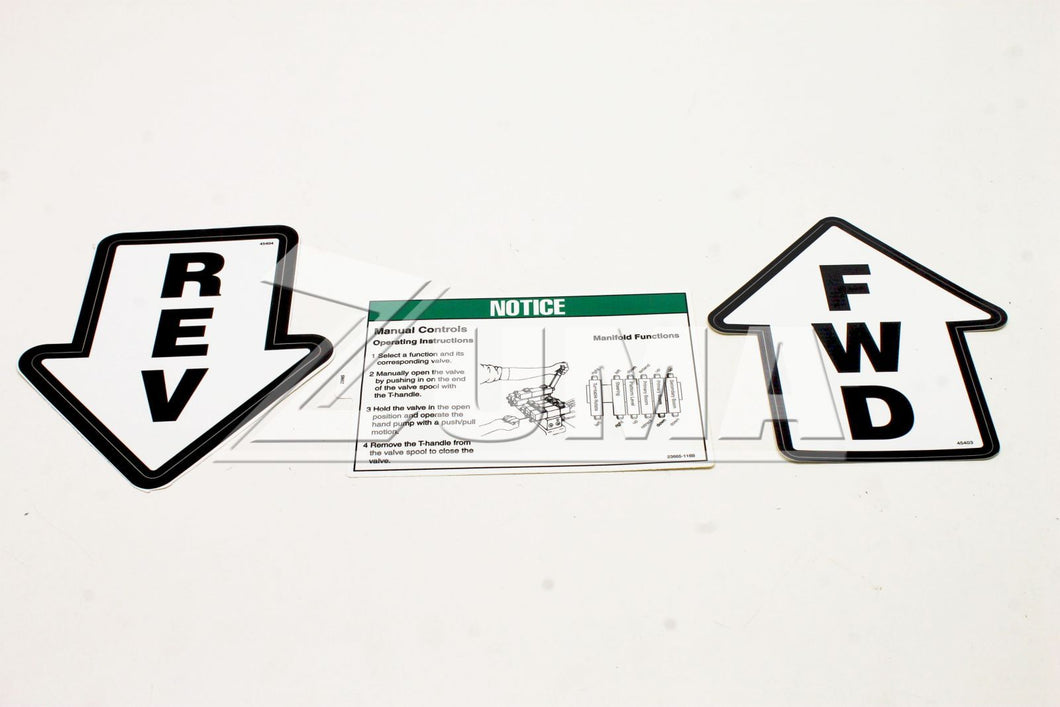 DECAL KIT,SAFETY/INSTRUC.30/20 (Genie Part # 29050GT OR 29050)