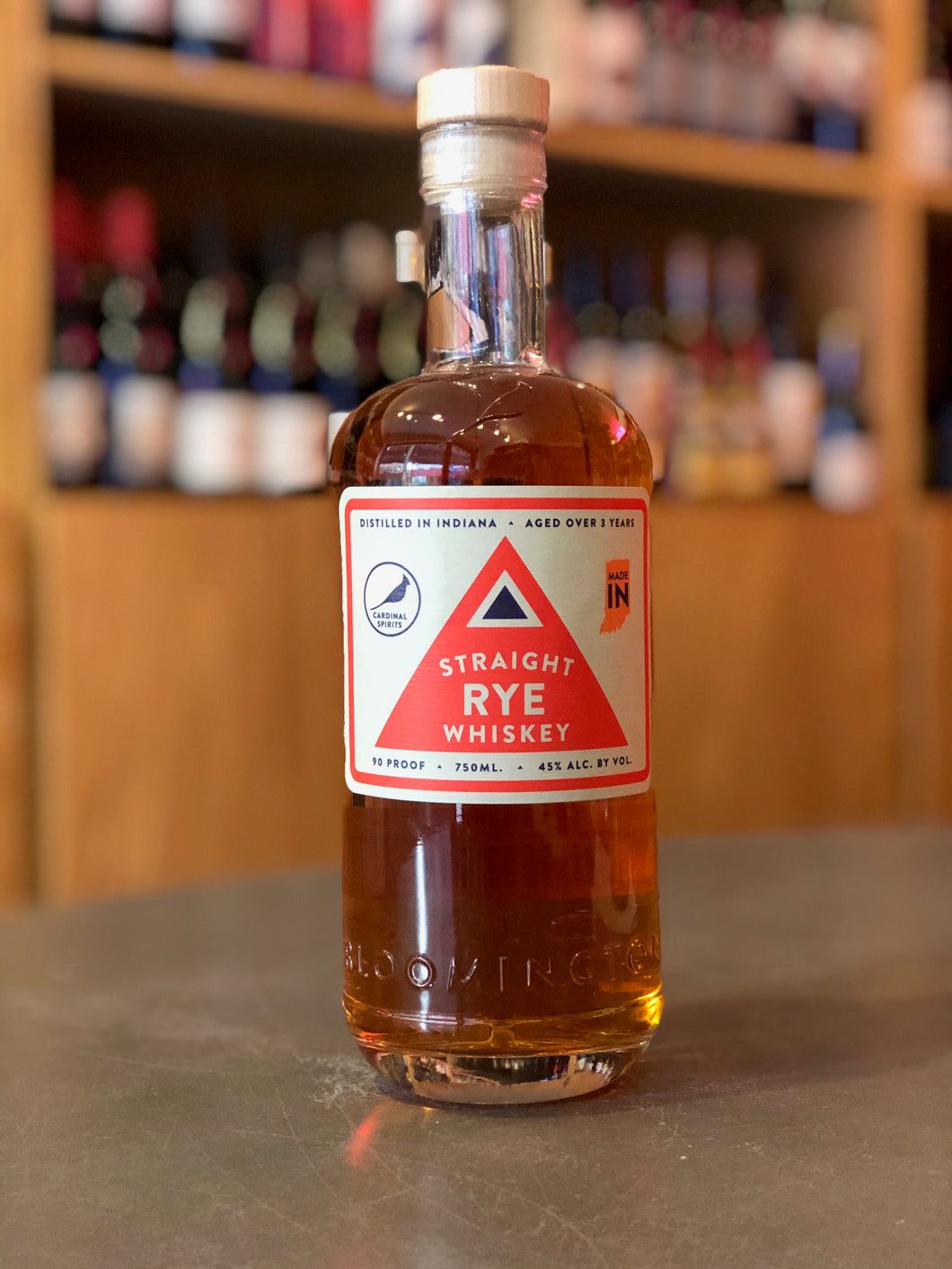 Cardinal Spirits 3 Year Old Straight Rye Whiskey
