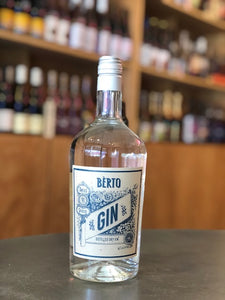 Berto, Distilled Dry Gin (NV)