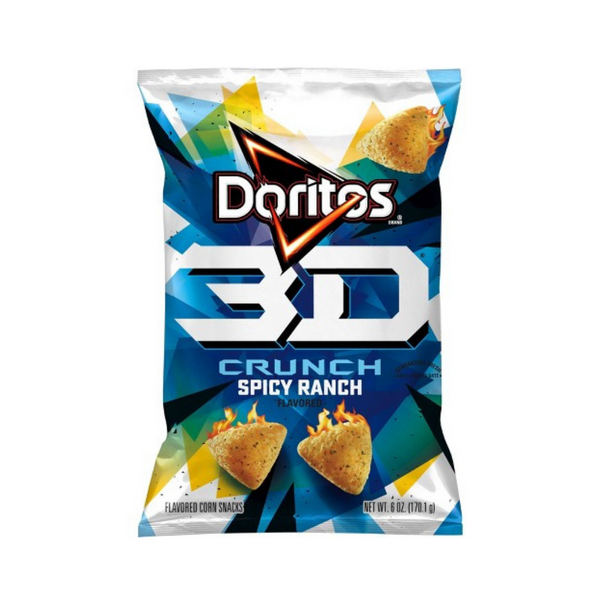 Doritos 3D Crunch Spicy Ranch - Soflo Snacks