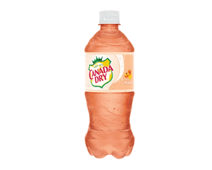 Canada Dry Peach Ginger Ale - Soflo Snacks