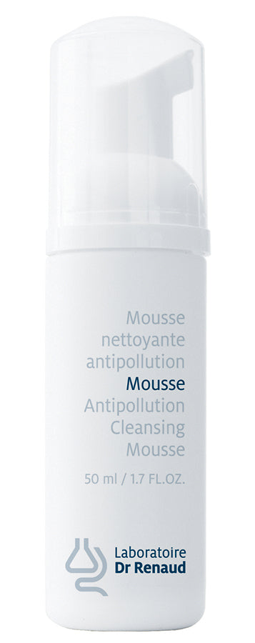 Mousse nettoyante antipollution