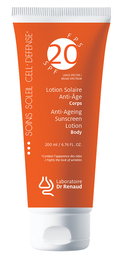 Lotion Solaire Anti-Âge Large spectre FPS 20 • Corps