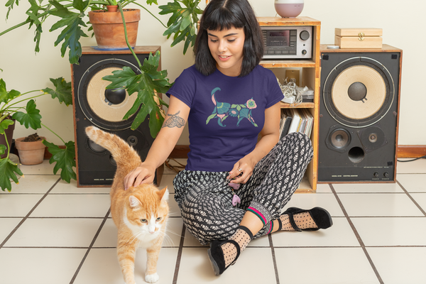 Exclusive Limited-Edition Artist Series Cat Culture T-Shirt Collection