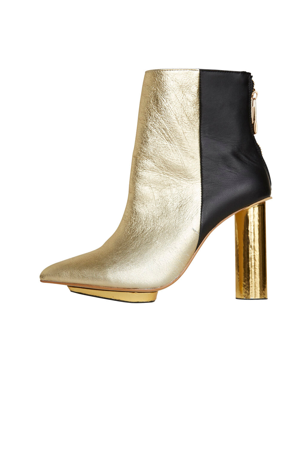 Roxy - Gold and Black Boot
