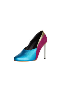 Bardot - Pink and Blue Pump