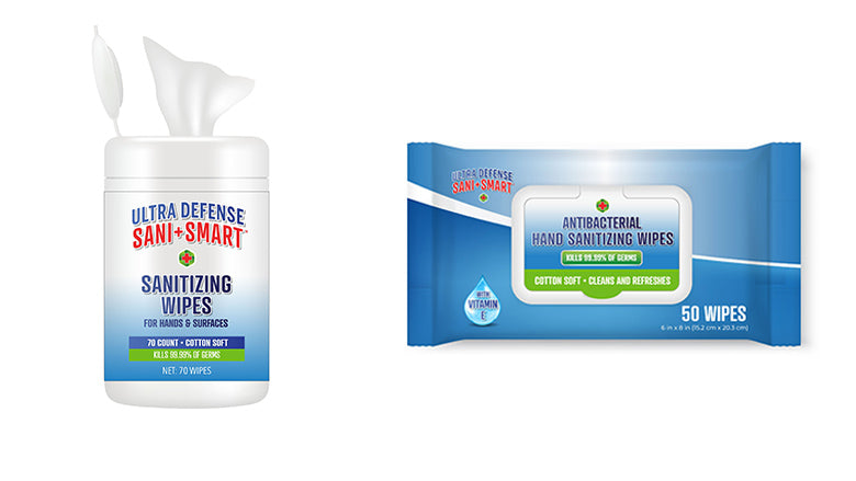 Ultra Defense Hand Sanitizing Wipes