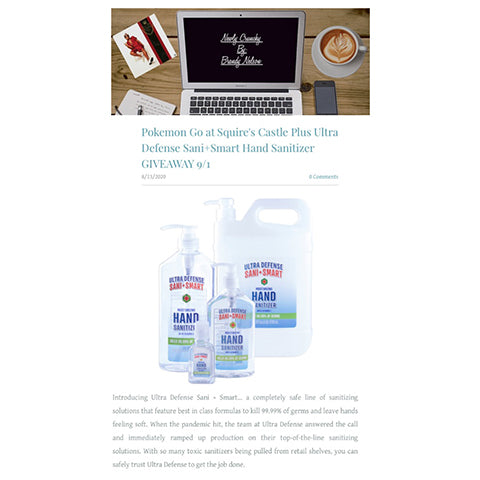 Newly-Crunch-Mama-of-3-Featured-Ultra-Defense-Hand-Sanitizers