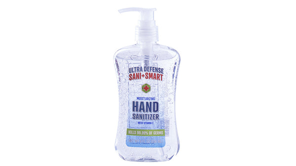 Washing Your Hands - Ultra Defense Sani Smart Hand Sanitizers