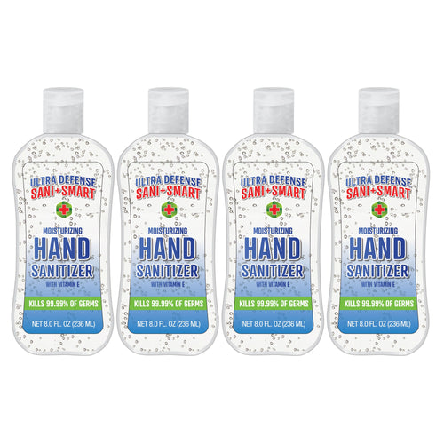Ultra Defense Sani Smart Hand Sanitizer Original - 8 fl oz - 4 PACK