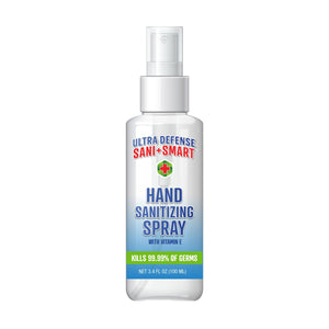 Ultra Defense Sani Smart Hand Sanitizing Spray - 3.4 fl oz