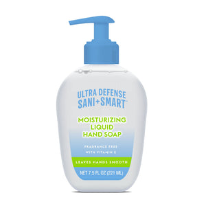 Ultra Defense Sani Smart Moisturizing Liquid Hand Soap - Fragrance Free