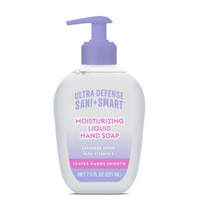 Ultra Defense Sani Smart Moisturizing Liquid Hand Soap - Lavender 7.5 FL OZ