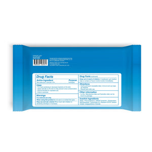 Ultra Defense Sani Smart Sanitizing Wipes 50CT Packet