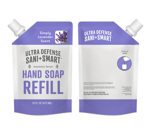 Ultra Defense Sani + Smart Foaming Hand Soap Refill For Touchless Dispenser - Lavender Scented