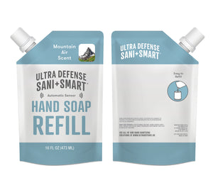 Ultra Defense Sani + Smart Foaming Hand Soap Refill For Touchless Dispenser - Mountain Air